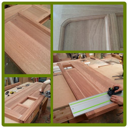Tudor doors in progress